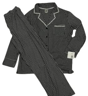 Anne Klein Anne Klein Black and White pajama set