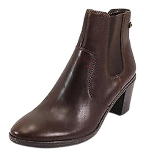 Anne Klein Good Womens Leather Nbw brown Boots