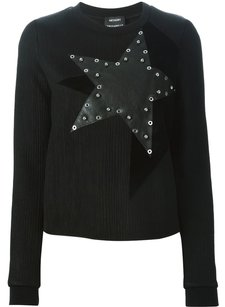 Anthony Vaccarello Studded Genuine Iconic Chic Sweater