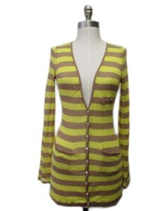 Anthropologie Moth Yellow Sweater