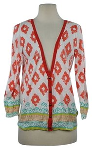 Anthropologie Moth Womens Printed Sweater
