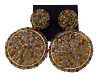 Anthropologie New beaded Anthropologie earrings