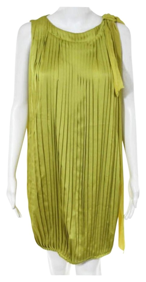 anthropologie olive green zoa new york sleeveless pleated dress 73 off retail. Black Bedroom Furniture Sets. Home Design Ideas