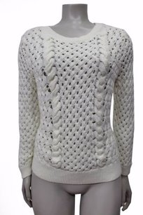 Anthropologie Knitted Knotted Cable Sweater