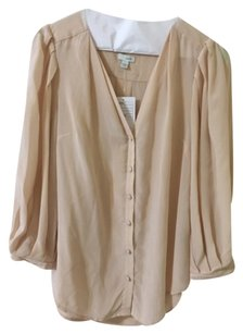 Anthropologie Top Nude