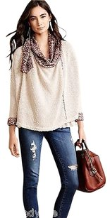 Anthropologie Boucle Wrap Ml By Field Sweater