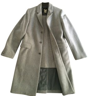 A.P.C. A.P.C. Gray Wool Coat. From 1995. With Very special offering. Created in Paris by Jean Touitou.