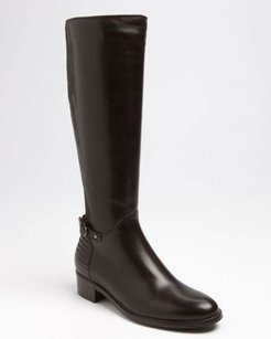 Aquatalia by Marvin K. Orion Leather Brown Boots