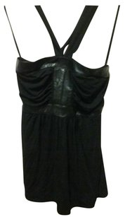 Arden B. Black Halter Top