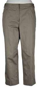 Armani Collezioni Womens Cropped Trousers Pants