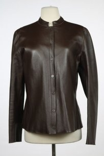 Armani Collezioni Womens Brown Jacket