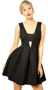 ASOS Cut-out Strappy Pleated Dress