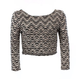 ASTR 3-4-sleeve Color-white Top