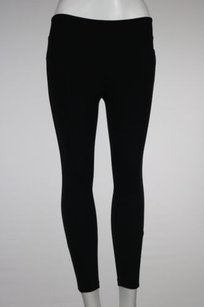 Athleta Athleta Womens Black Cropped Active Pants Casual Stretchy Trousers