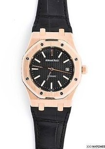 Audemars Piguet Mens Audemars Piguet Royal Oak 15300or.oo.d002cr.01 18k Rg Auto Date Watch