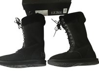 Australia Luxe Collective Cold Weather Snow Fuzzy Black Boots