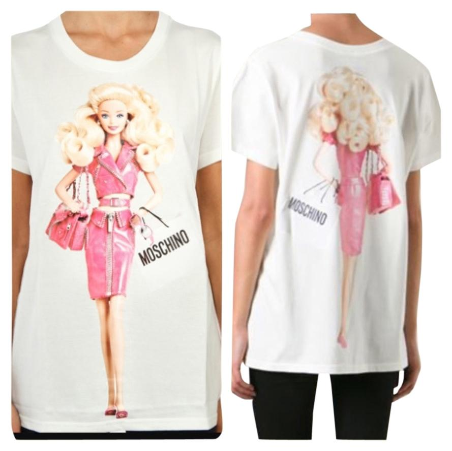 Authentic Moschino Couture barbie t shirt