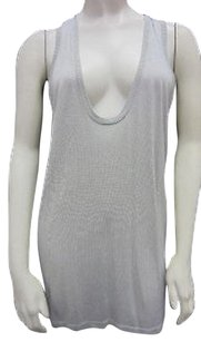 Autumn Cashmere Draped Top grey
