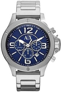 A|X Armani Exchange Armani Exchange Stainless Steel Chronograph Mens Watch Ax1512