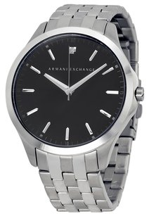 A|X Armani Exchange Black Dial Stainless Steel Men's Watch ax2158