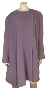 Bagguta made in Italy jacket formal purple beautiful cape like 50 percent wool 50 percent alpaco elegant and warm Cape