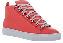 Balenciaga Arena High-top Sneakers Red Athletic