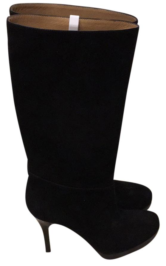 Balenciaga Black Suede Boots/Booties Size US 8.5 Regular (M, B)