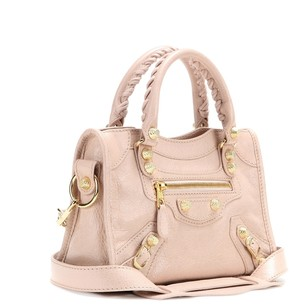 Balenciaga Crossbody Satchel in Rose Ballerine