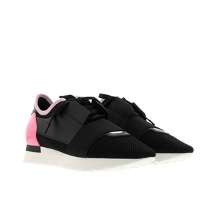 Balenciaga Pink Running Sneakers Athletic
