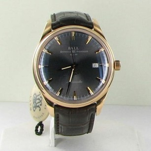Ball Ball Nm2888d-pg-lj-gygo Trainmaster 120 Years 18k Pinkgold Automatic Watch