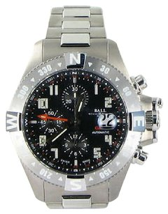 Ball Ball Watch Dc3036-sabk Engineer Hydrocarbon Spacemaster Orbital Ii Gmt