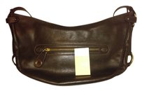 Bally Leather Solid Brass Shoulder Bag