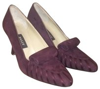 Bally Merlot Pumps
