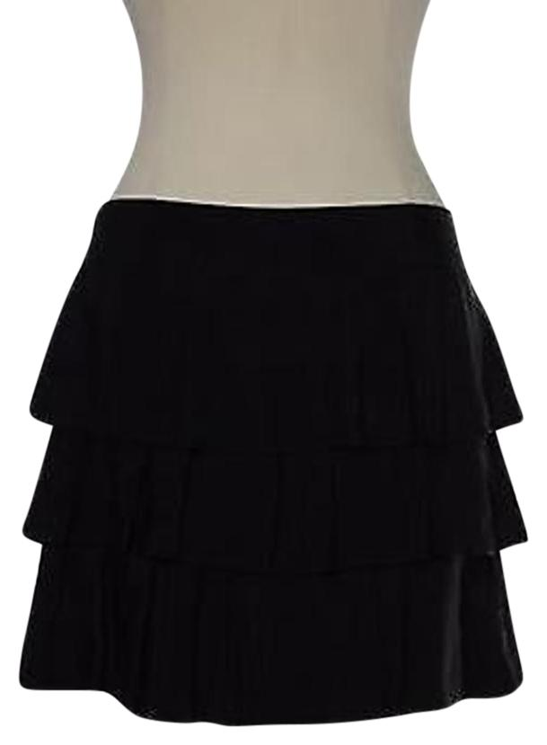 Quality In Banana Republic Womens Skirt Size 0 Purple 100% Silk A-line Excellent