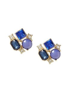 Banana Republic Banana Republic Blue Midnight Sail Cluster Stud Earring