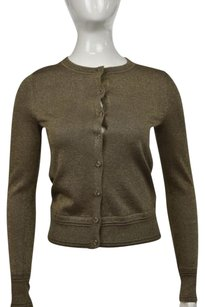 Banana Republic Women Metallic Cardigan Longsleeve Shirt Sweater