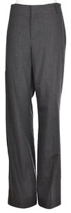 Banana Republic The Martin Fit Womens Dress 14l Pinstriped Wool Pants