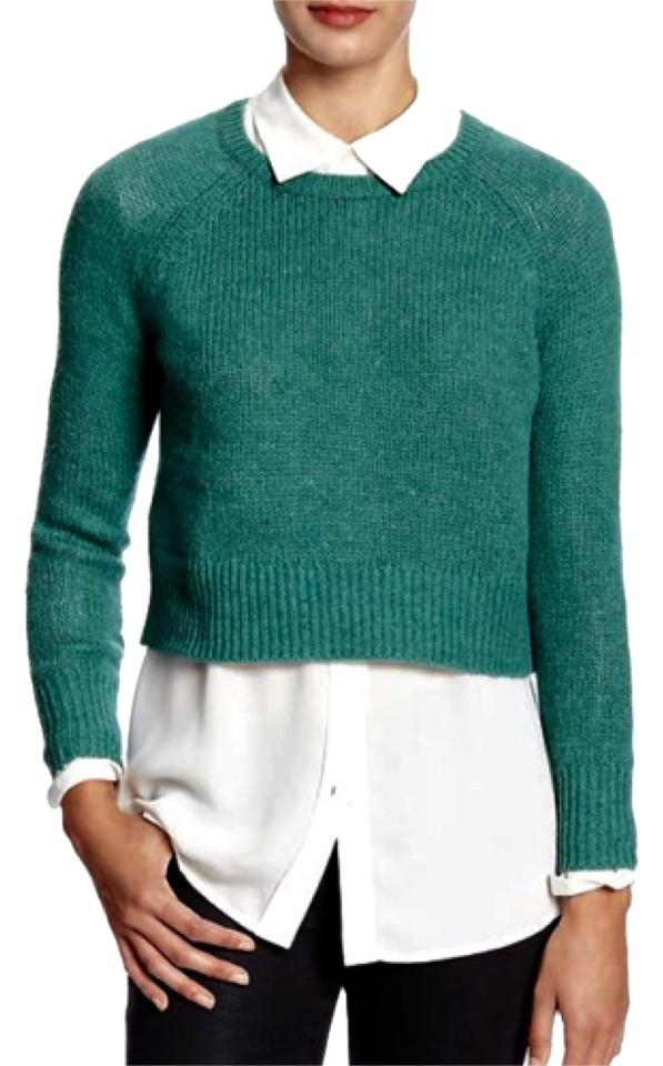 Banana republic Heather cropped sweater size L