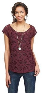 Banana Republic Top Black Rose