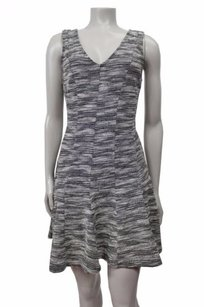 Banana Republic short dress Black-white Marled Tweed on Tradesy