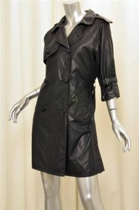 Band of Outsiders Black Trench Coat