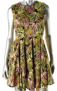 Bar III short dress Tropical on Tradesy