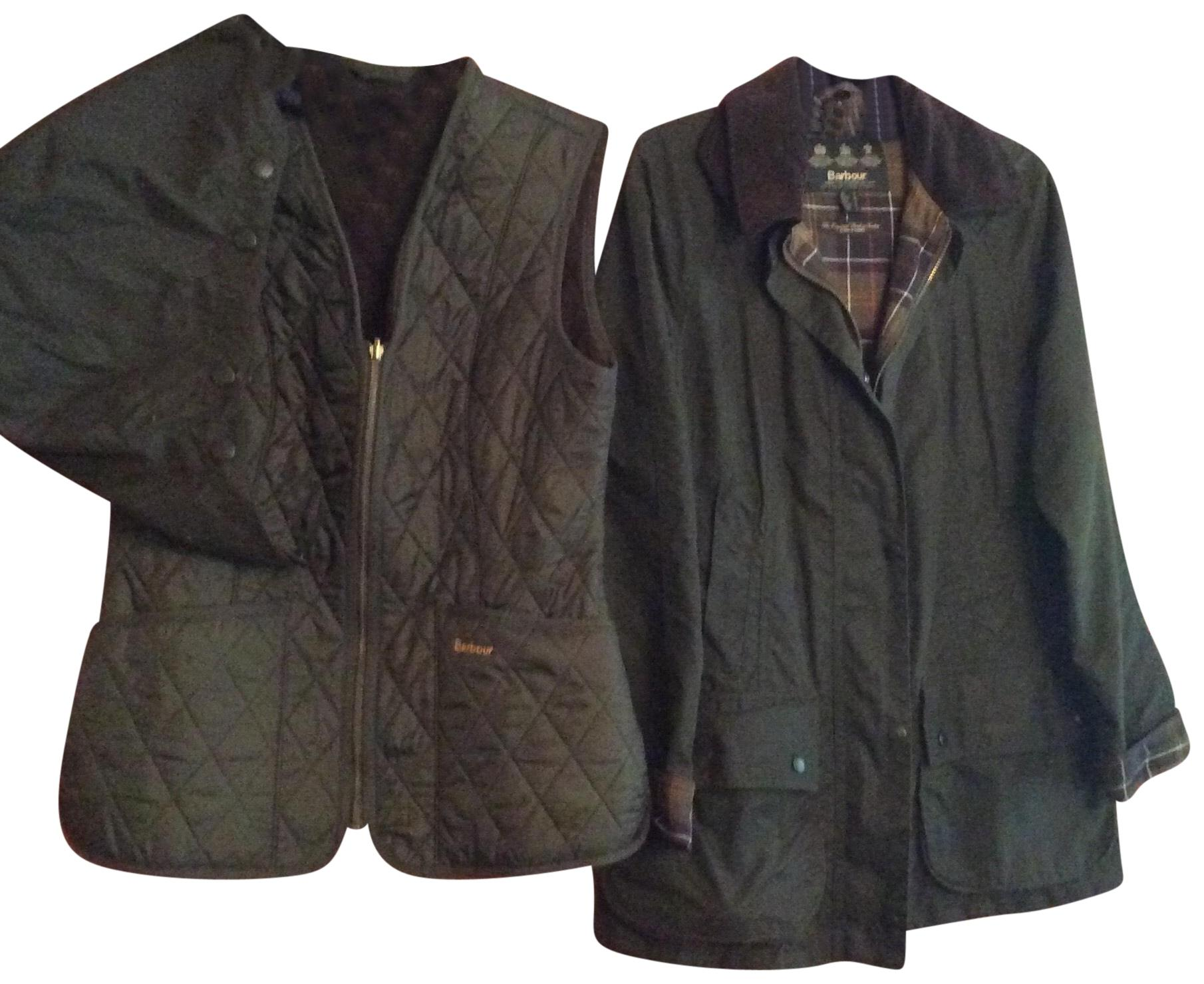 Barbour Raincoat Beadnell Hood Liner Classic Olive and In Vest Zip zrqz4vw 2949869037e4