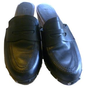 Bass Black Mules