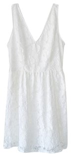 BB Dakota short dress White Lace Lace on Tradesy