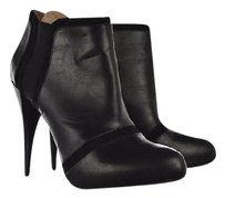 BCBG Paris Womens Ankle Color Heels Black Boots