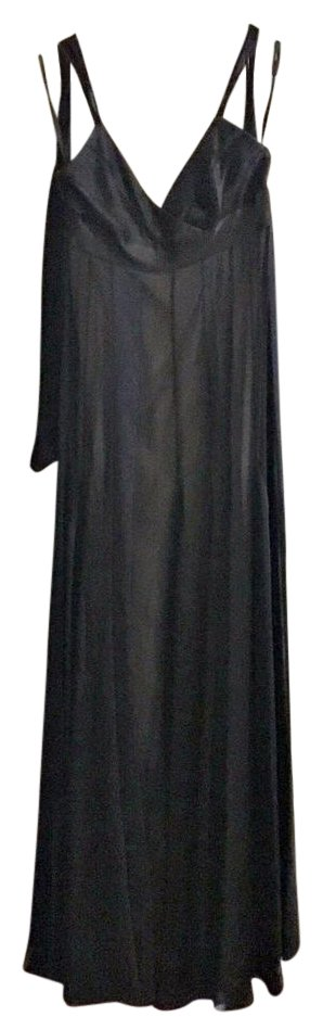 BCBG Silk Black Gown
