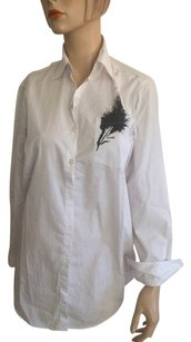 BCBGeneration Button Down Shirt White.