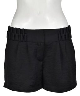 BCBGeneration Womens Solid Casual Woven Shorts Black