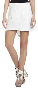 BCBGMAXAZRIA Bcbg Runway Elita White Mini Skirt Talc